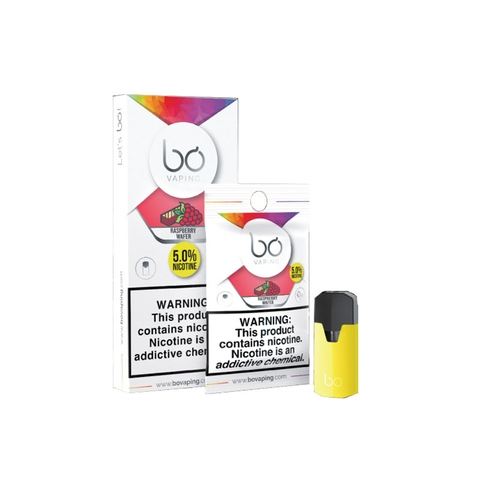 Bo Caps Raspberry Wafer by Bo Vaping