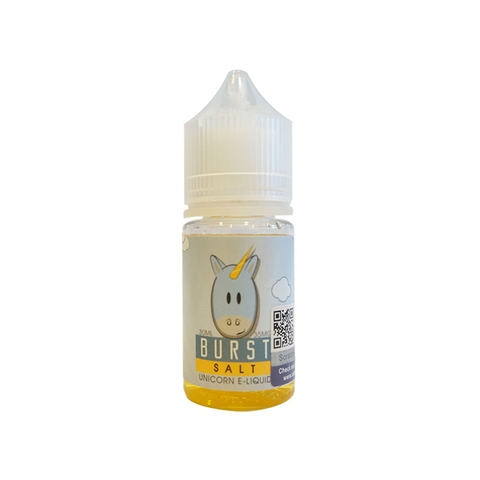 Burst Salt Nic by Unicorn E-Liquid (30 ml) (Dâu kiwi)