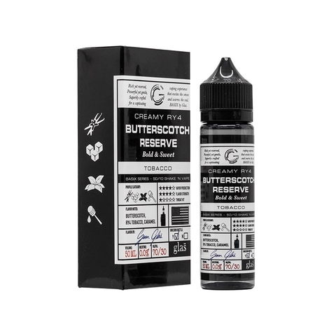 Butterscotch Reserve by Glas Vapor (60ml)