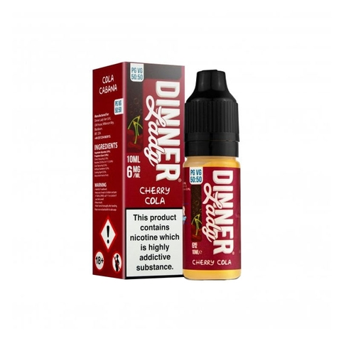 Cherry Cola (50:50) by Dinner Lady (10 ml) (Coca anh đào)
