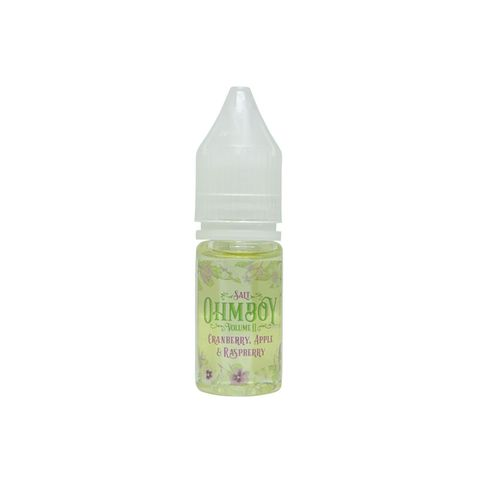Cranberry, Apple & Raspberry Salt Nic by OhmBoy (10ml) (Nam việt quất táo mâm xôi)