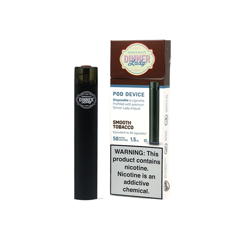 Dinner Lady Disposable Pod - Smooth Tobacco (1.5ml)