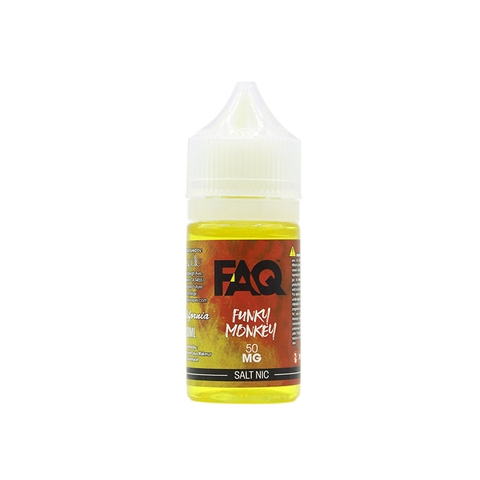 Funky Monkey Salt Nic by FAQ (30 ml) (Dâu kiwi chuối)