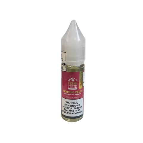Morning Melon Salt Nic by Fresh Farms (15 ml) (Dưa hấu dưa gang)