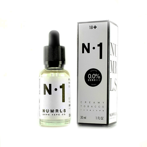 N.1 Creamy Tobacco by NUMRLS 30ml