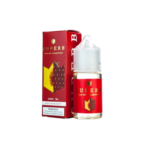 Nectarberry Salt Nic by SuperB (30 ml) (Parfait đào dâu)