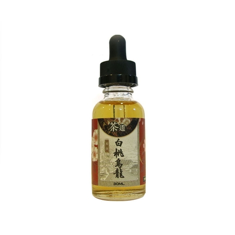 Peach Wulong Tea Salt Nic by Cha Dao (30ml) (35mg) (Trà bạch đào Ô long)