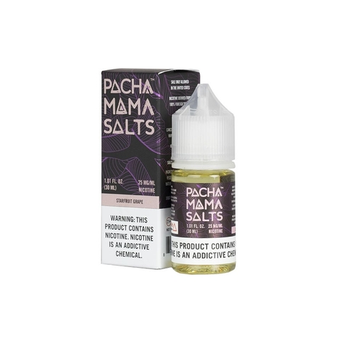Starfruit Grape Salt Nic by pachamama (30 ml) (Khế nho xanh)