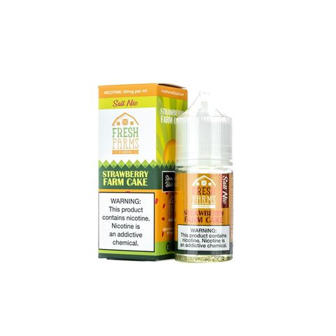 Strawberry Farm Cake Salt Nic by Fresh Farms (30ml) (Bánh bơ dâu)