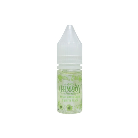 Sweet Water Grape & White Peach Salt Nic by OhmBoy (10ml) (Nho bạch đào)