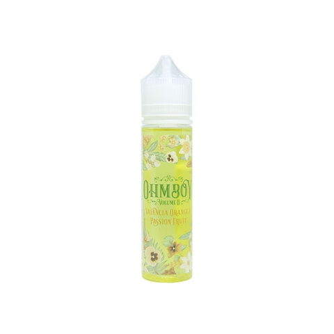 Valencia Orange & Passion Fruit by OhmBoy (60ml) (Cam chanh leo)