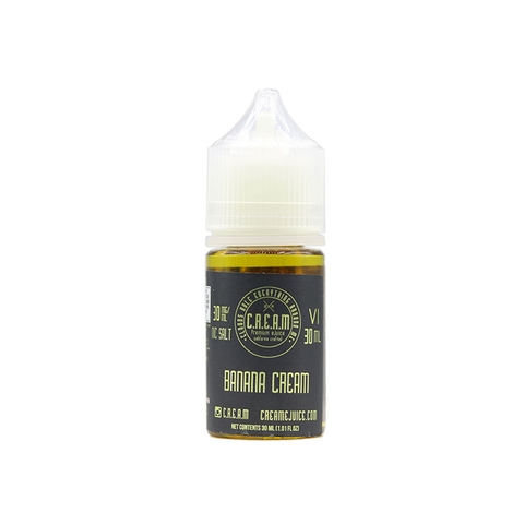 VI Banana Salt Nic by Cream (30ml) (Bánh kem chuối)