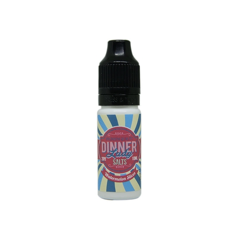 Watermelon Slices Salt Nic by Dinner Lady (10 ml) (Kẹo dẻo dưa hấu)