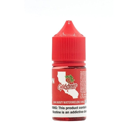 Wavy Watermelon Salt Nic by California (30 ml) (Dưa hấu)