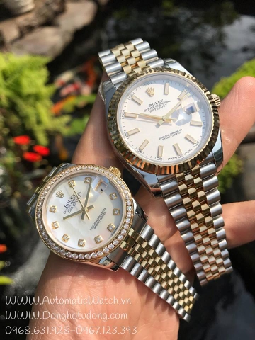 Đồng hồ ROLEX  Datejust 41 Steel and 18K Yellow Gold Jubilee Men's Watch 126333