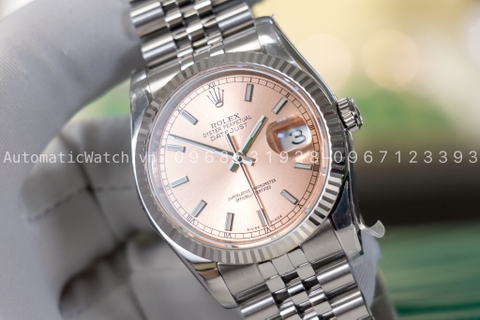 Đồng hồ Rolex Oyster Perpetual 36 mm Stainless Steel Jubilee 116234 Bản Replica