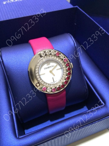 Swarovski Lovely Crystals Magenta Watch 1160309