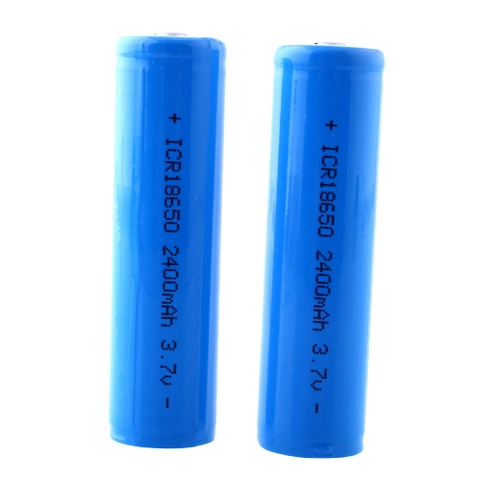 Pin 18650 - 2400mAh lithium battery