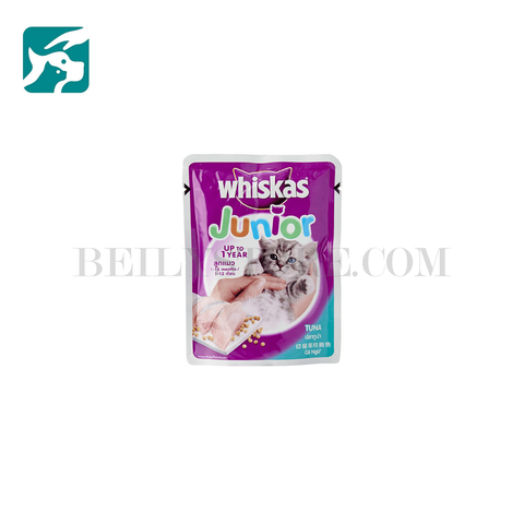 Pate cho mèo Whiskas Junior 85 Gam