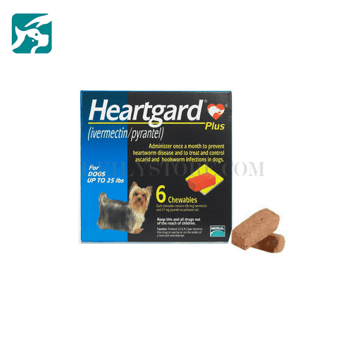 Tẩy giun tim Heart Gard Plus Chewable