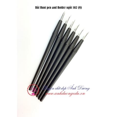 Bút Hunt pen and Holder ngòi 102 (N)