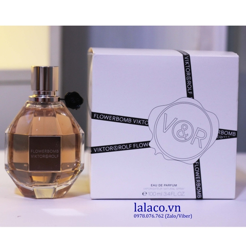 Nước hoa Tester Viktor&Rolf Flowerbomb For Women EDP 100ml