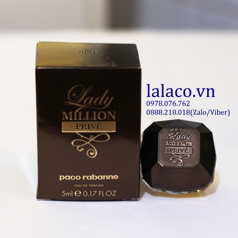 Nước hoa mini Paco Rabanne Lady Million Prive 5ml