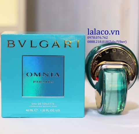 Bvlgari Omnia Paraiba For Women 40ml