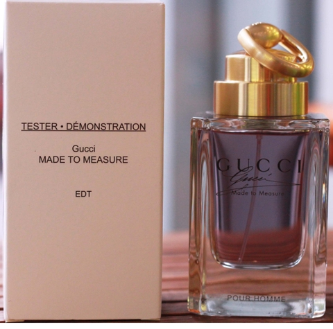 Tester Gucci Made To Measure Pour Homme 90ml