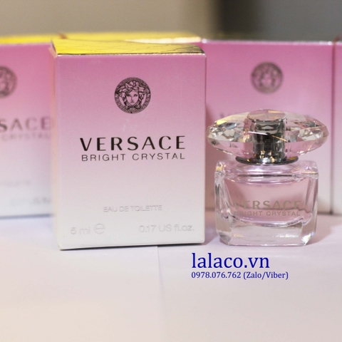 Nước hoa mini Versace Bright Crystal 5ml