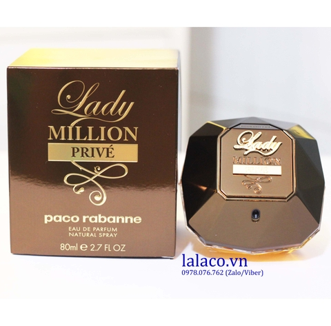 Nước hoa Nữ Paco Rabanne Lady Million Prive EDP 80ml