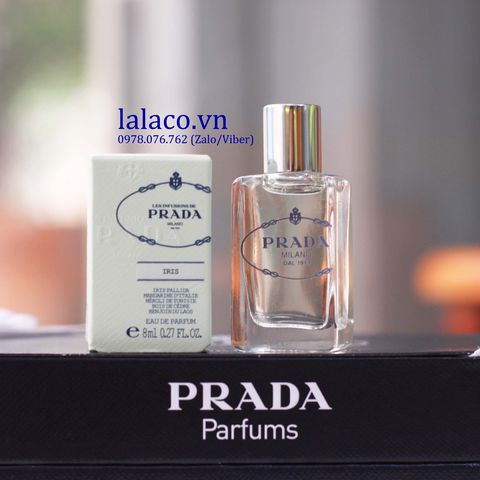 Nước hoa mini Prada Infusion Iris 8ml