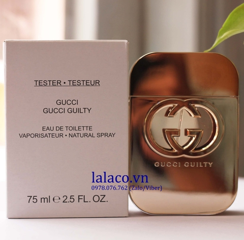 Tester Gucci Guilty For Women 75ml