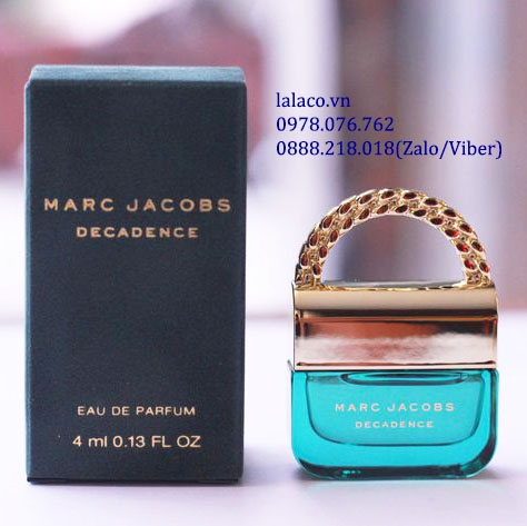 Nước hoa mini Marc Jacobs Decadence EDP 4ml
