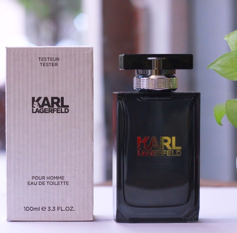 Nước hoa tester nam Karl Lagerfeld for Him EDT 100ml