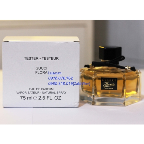 Nước hoa Tester Gucci Flora By Gucci EDP 75ml