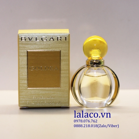 Nước hoa nữ mini Bvlgari Goldea For Women 5ml