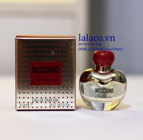 Nước hoa Mini Moschino Glamour EDP 5ml