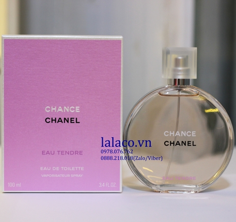 Nước hoa nữ Chanel Chance Eau Tendre - Made in France