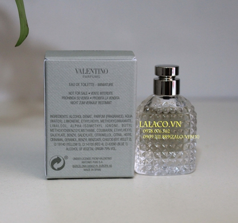 [ Mini 4ml ] Nước hoa Valentino Uomo Acqua 4ml