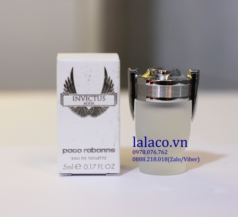 Nước hoa mini Invictus Aqua For Men 5ml