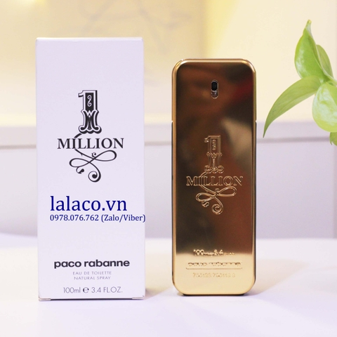 Tester Nam Paco Rabanne One Million EDT 100ml