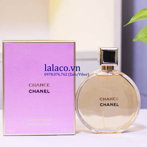Chanel Chance EDP 100ml - Made in France