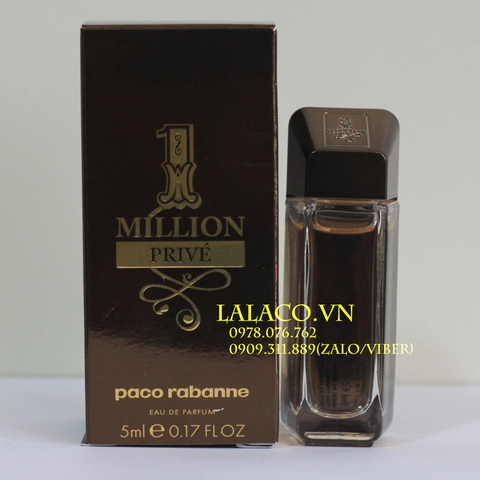 Nước hoa Mini Paco Rabanne One Million Prive 5ml