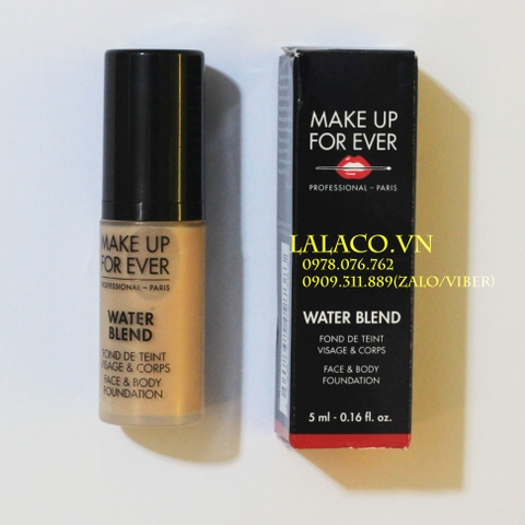 Kem Nền Make Up For Ever Water Blend 5ml #Y325