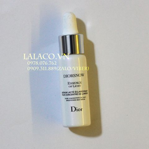 Diorsnow Essence of Light Pure Concentrate of Light Brightening Milk Serum 7ml