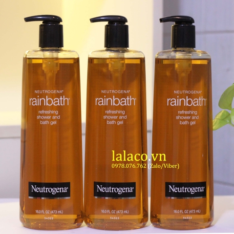 Sữa Tắm Rainbath® Neutrogena Shower and Bath Gel 473ml Mỹ
