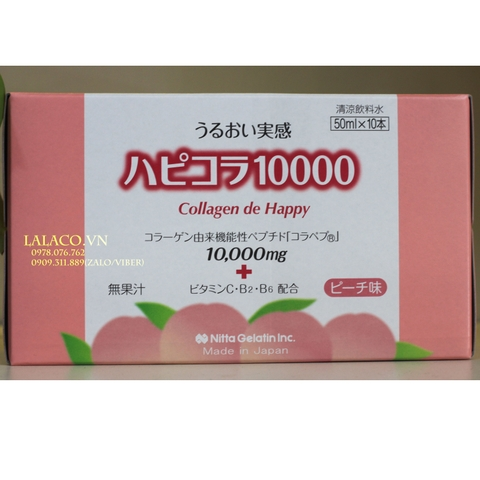 Collagen De Happy 10000mg Nhật Bản