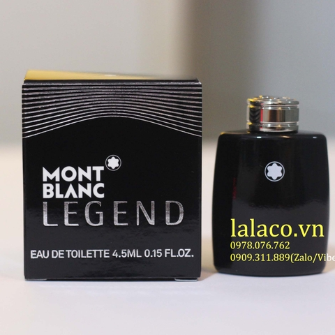 Nước hoa mini Montblanc Legend 4.5ml