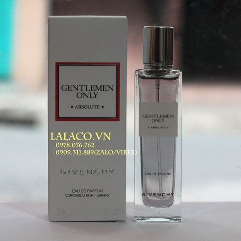 Nước hoa Nam Givenchy Gentlemen Only Absolute 15ml